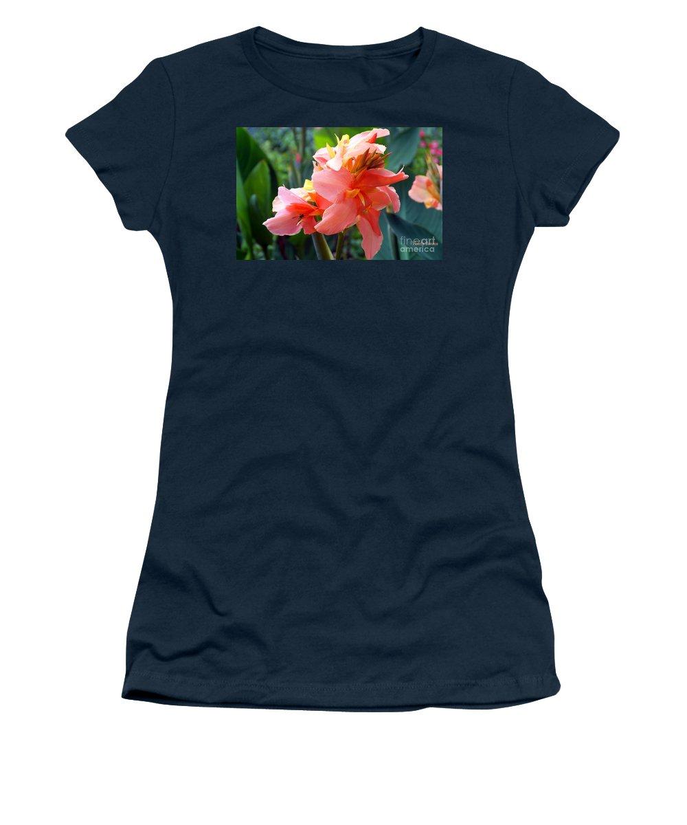 Flower Women's T-Shirt featuring the photograph Uplifting by Violeta Ianeva