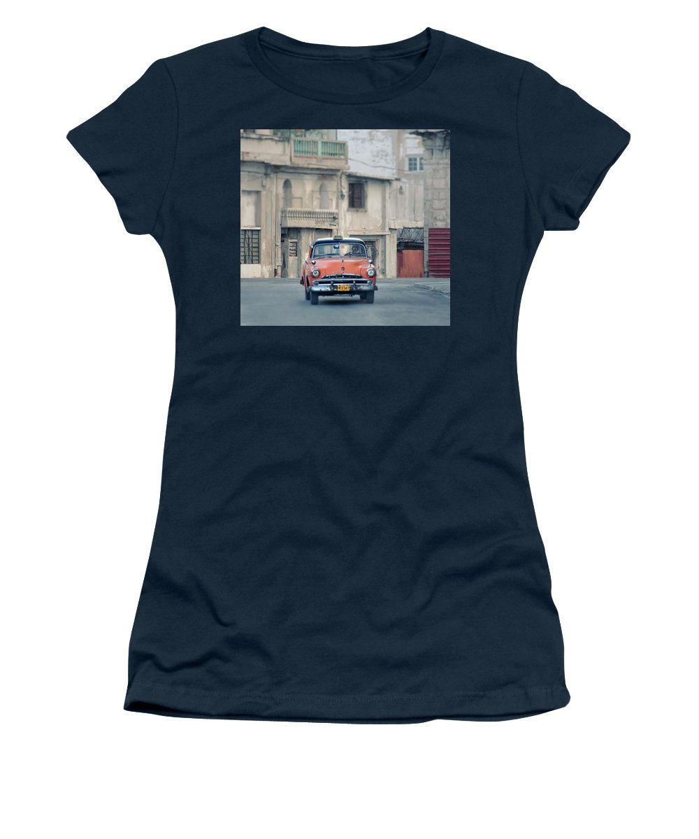 1950s Women's T-Shirt featuring the photograph Where The Streets Do Have Names.. by A Rey