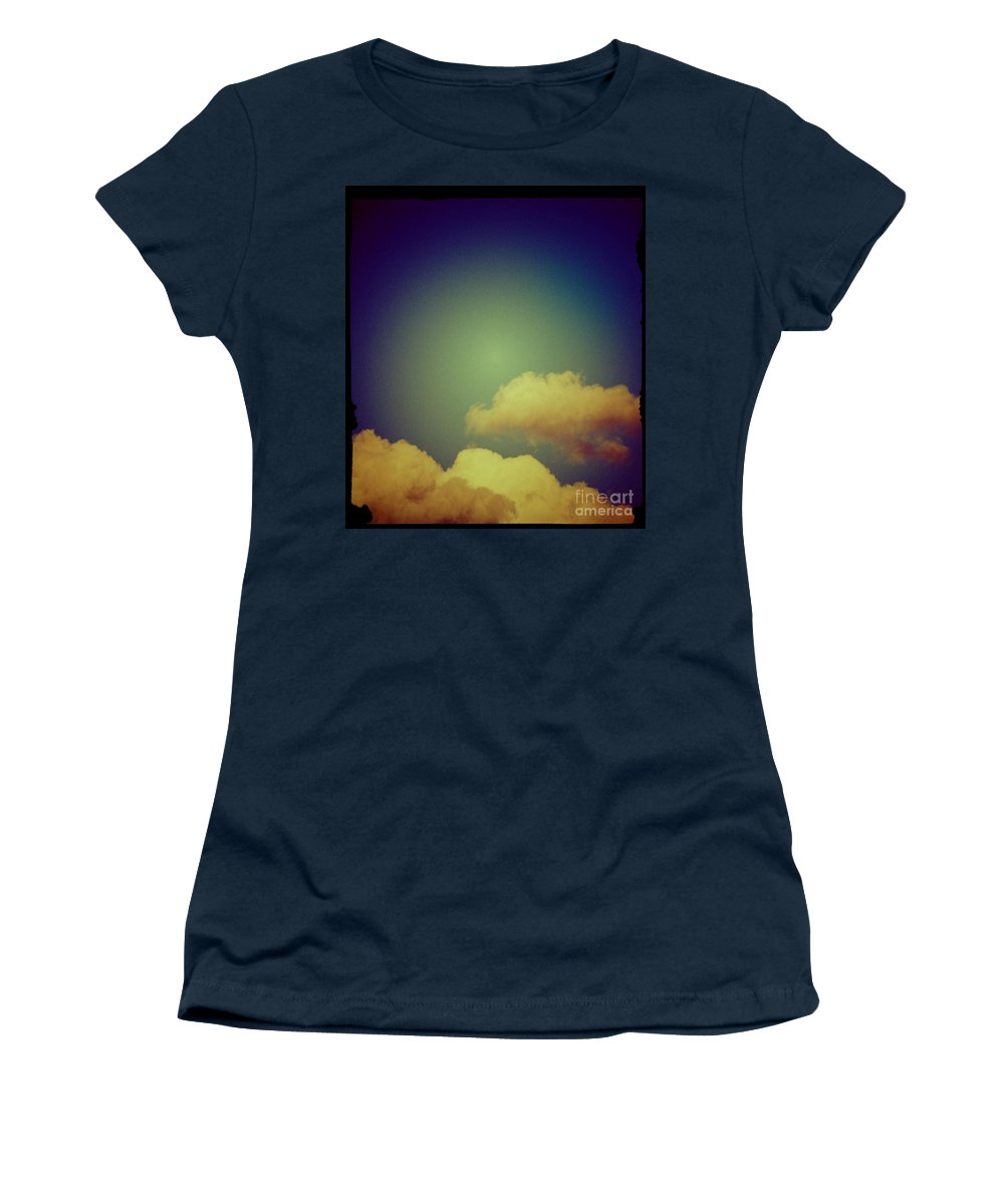 Clouds Women's T-Shirt featuring the photograph Clouds by Silvia Ganora