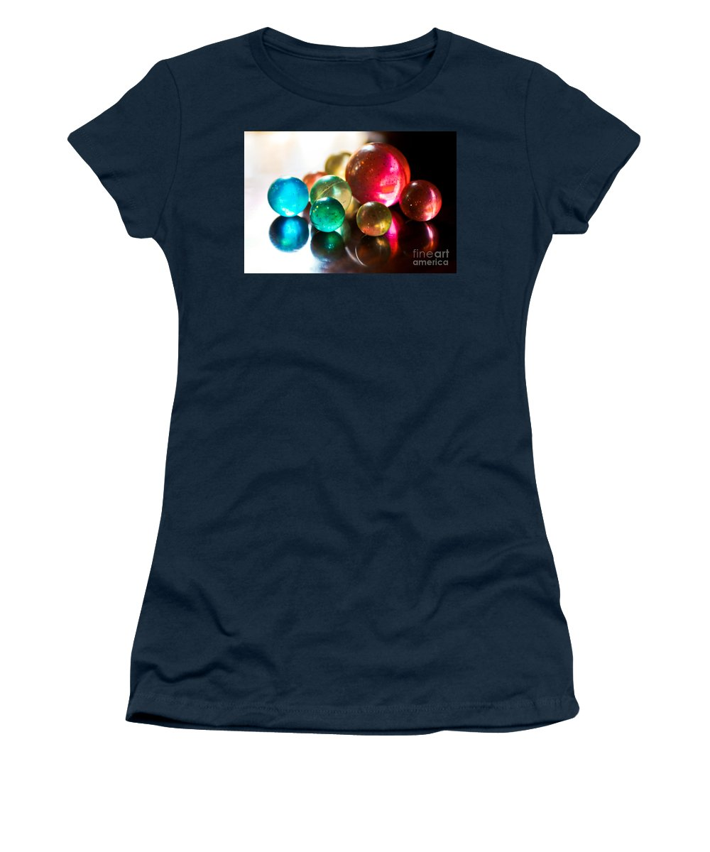 Colors.colorful Women's T-Shirt featuring the photograph Colors Of Life by Syed Aqueel