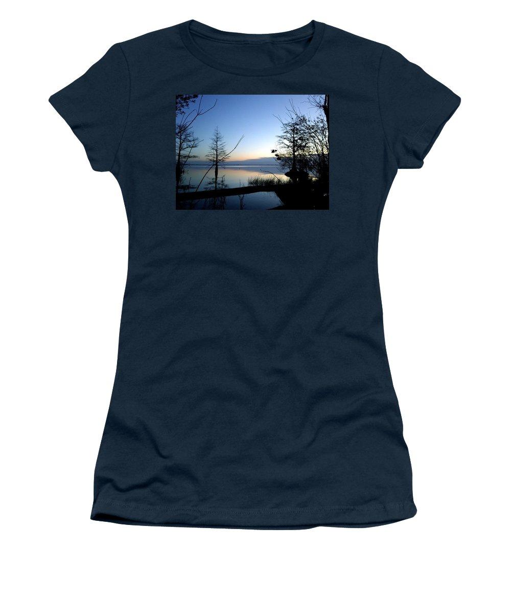 Sunrise Women's T-Shirt featuring the photograph Morning Serenity by Brett Winn