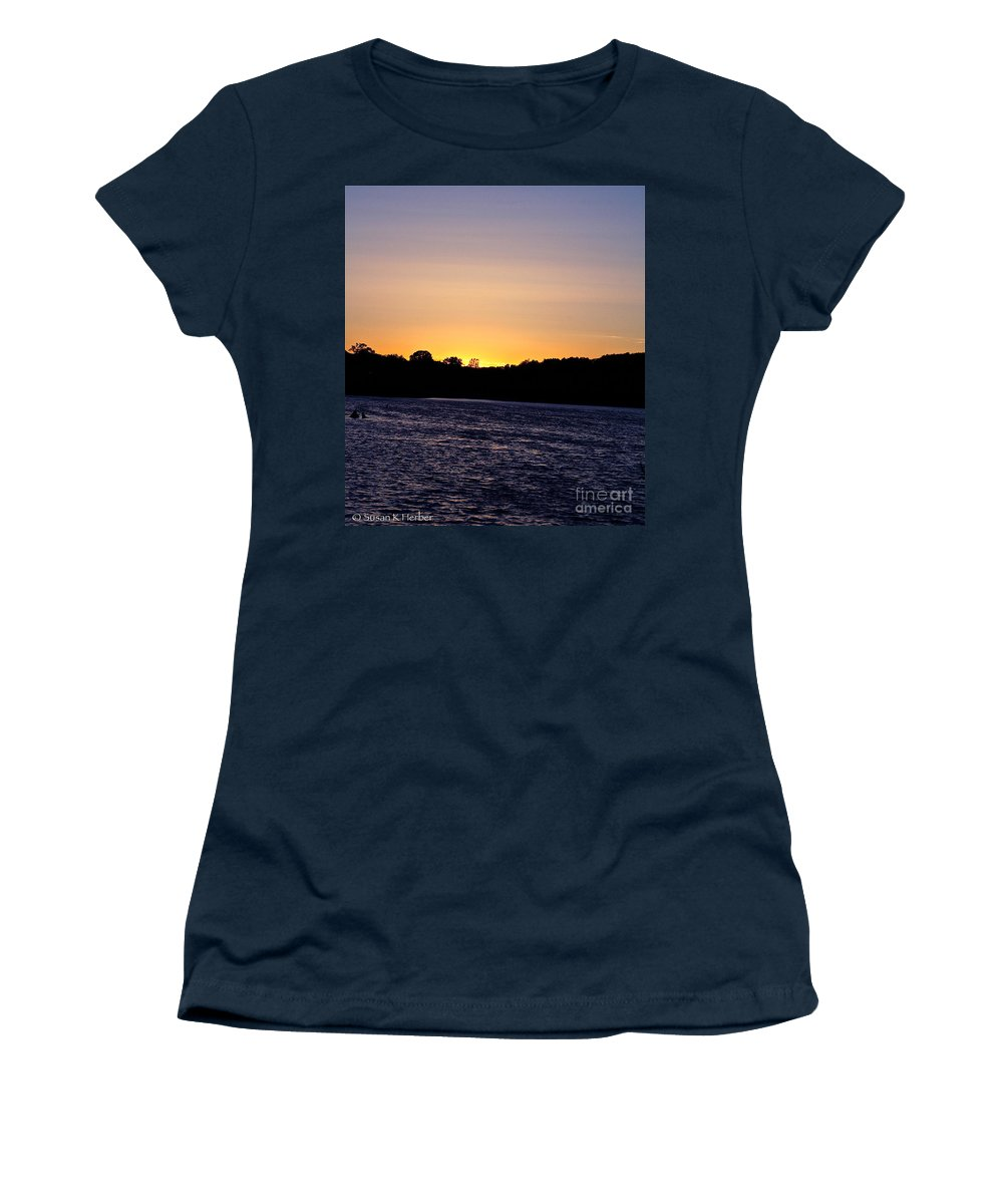 Minnesota Women's T-Shirt (Athletic Fit) featuring the photograph Natural Pastels by Susan Herber