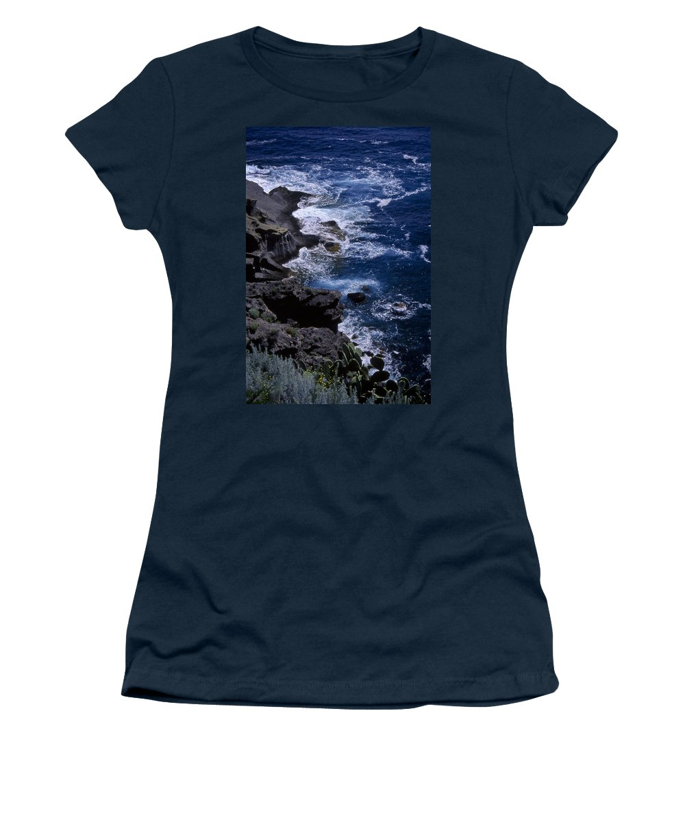 Sea Women's T-Shirt featuring the photograph Postcard From Sicily by Michele Mule
