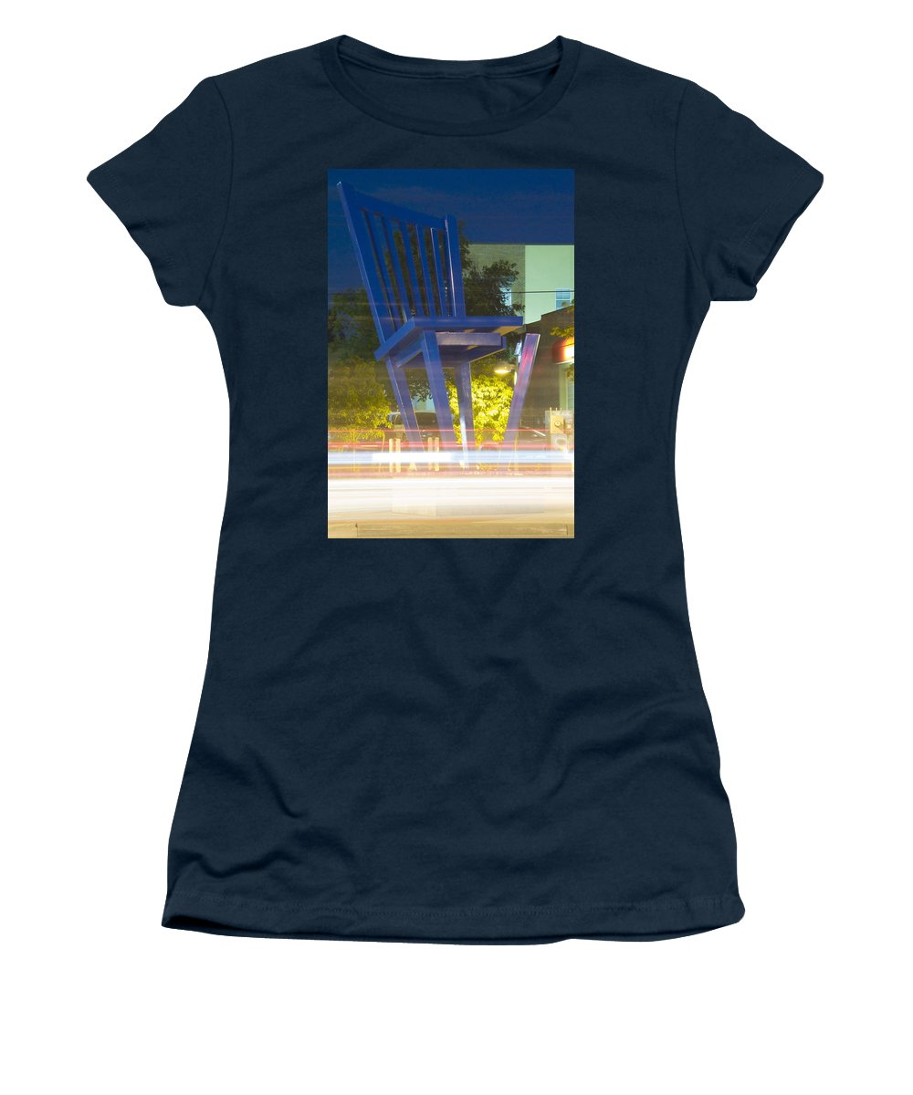 Unglued Women's T-Shirt (Athletic Fit) featuring the photograph Unglued by Jeffery Ball