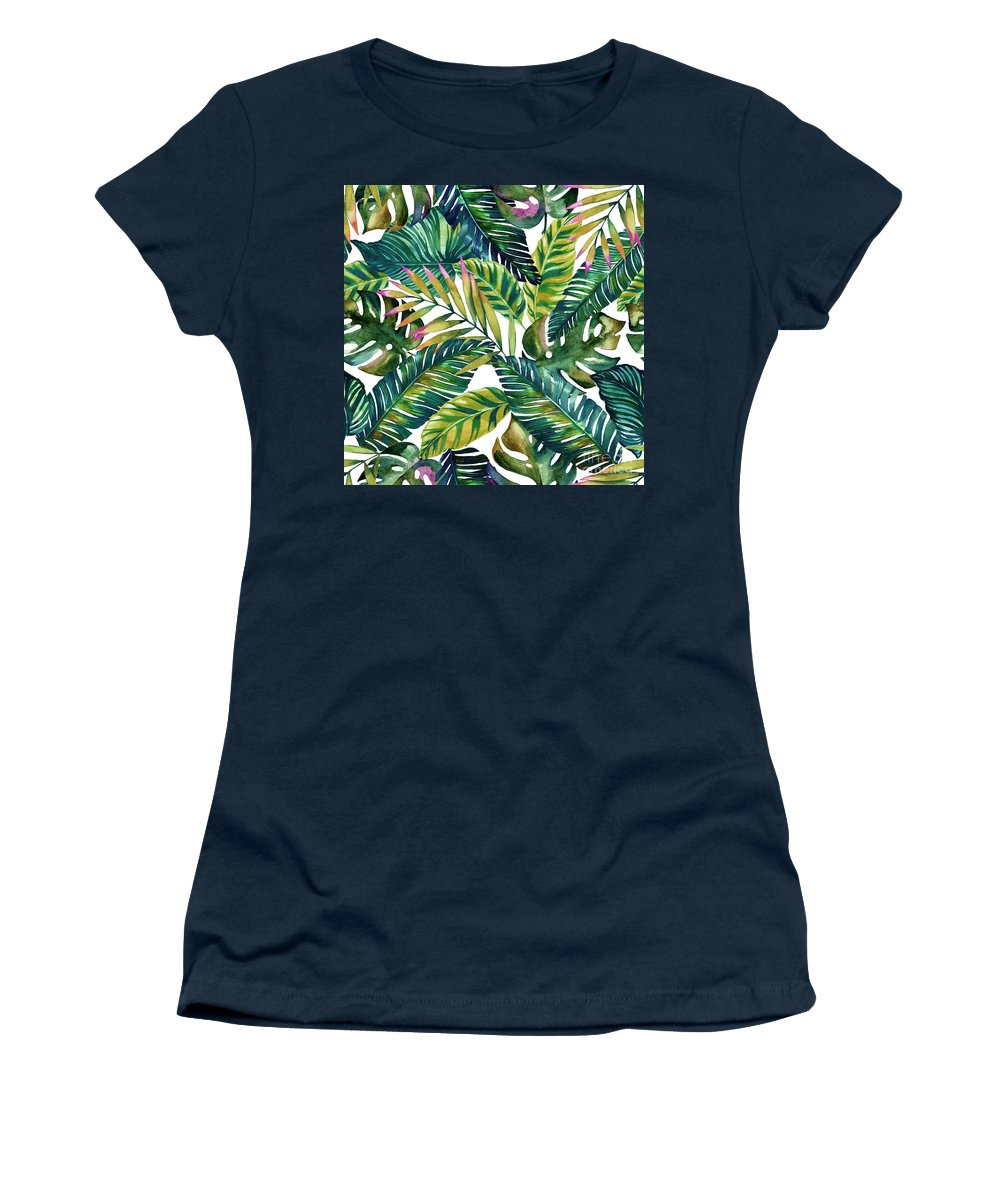 Summer Women's T-Shirt featuring the photograph Tropical by Mark Ashkenazi