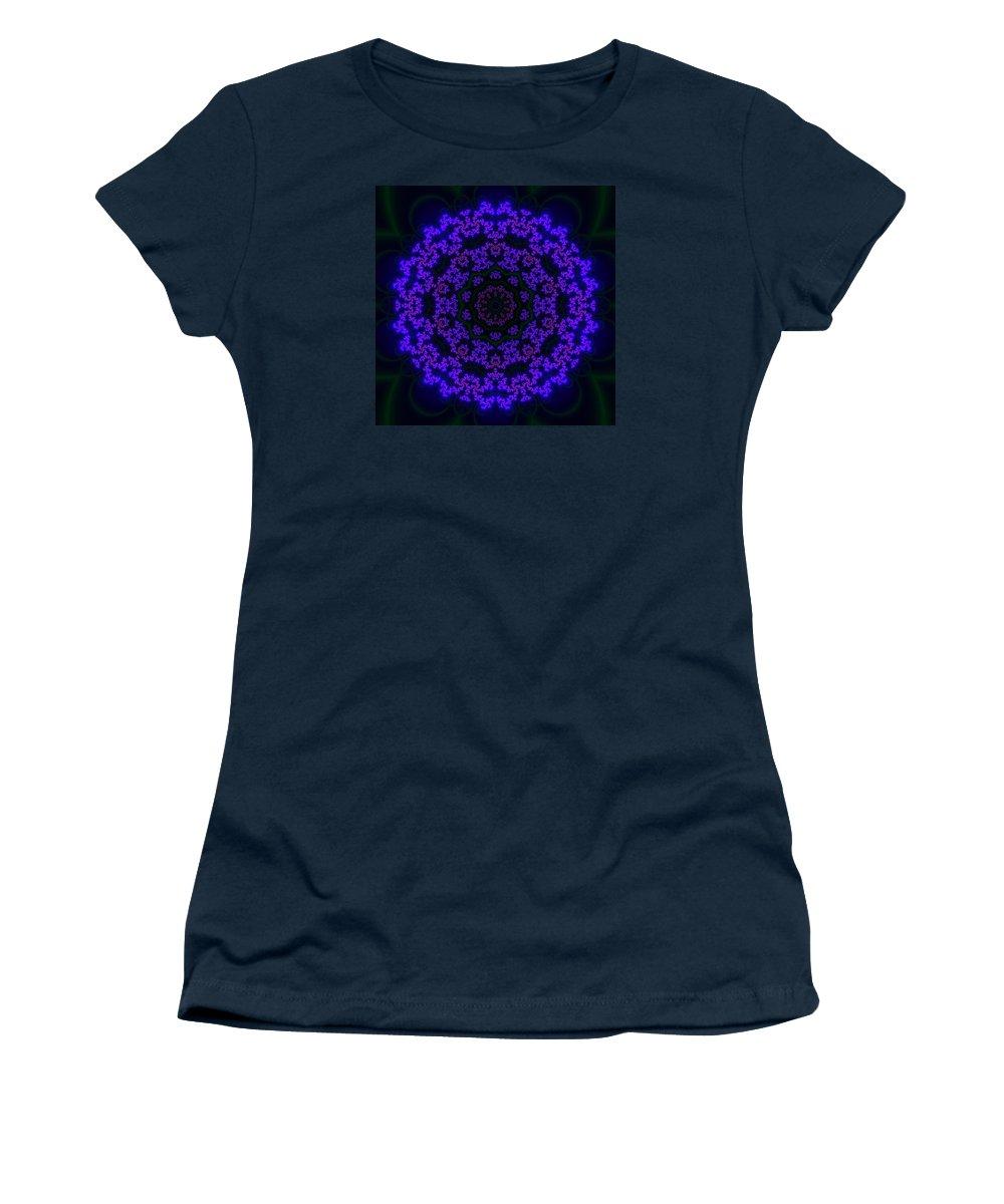 Akbal Women's T-Shirt featuring the digital art Akbal 10 by Robert Thalmeier