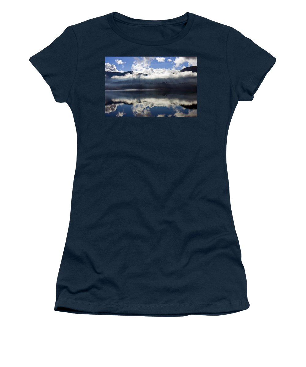Heavenly Light Women's T-Shirt featuring the photograph Almost Heaven by Mike Dawson