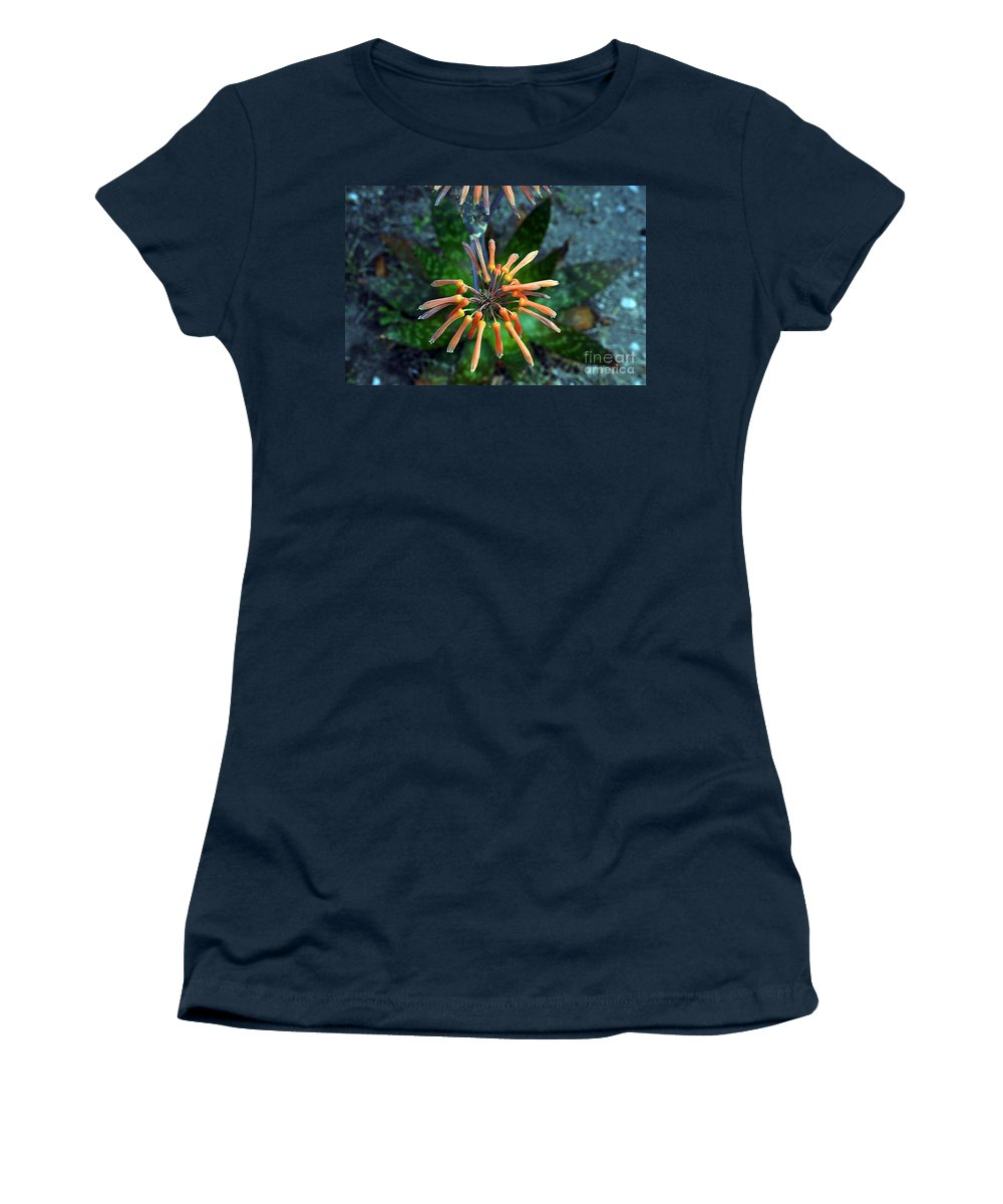 Clay Women's T-Shirt (Athletic Fit) featuring the photograph Aloe Vera by Clayton Bruster