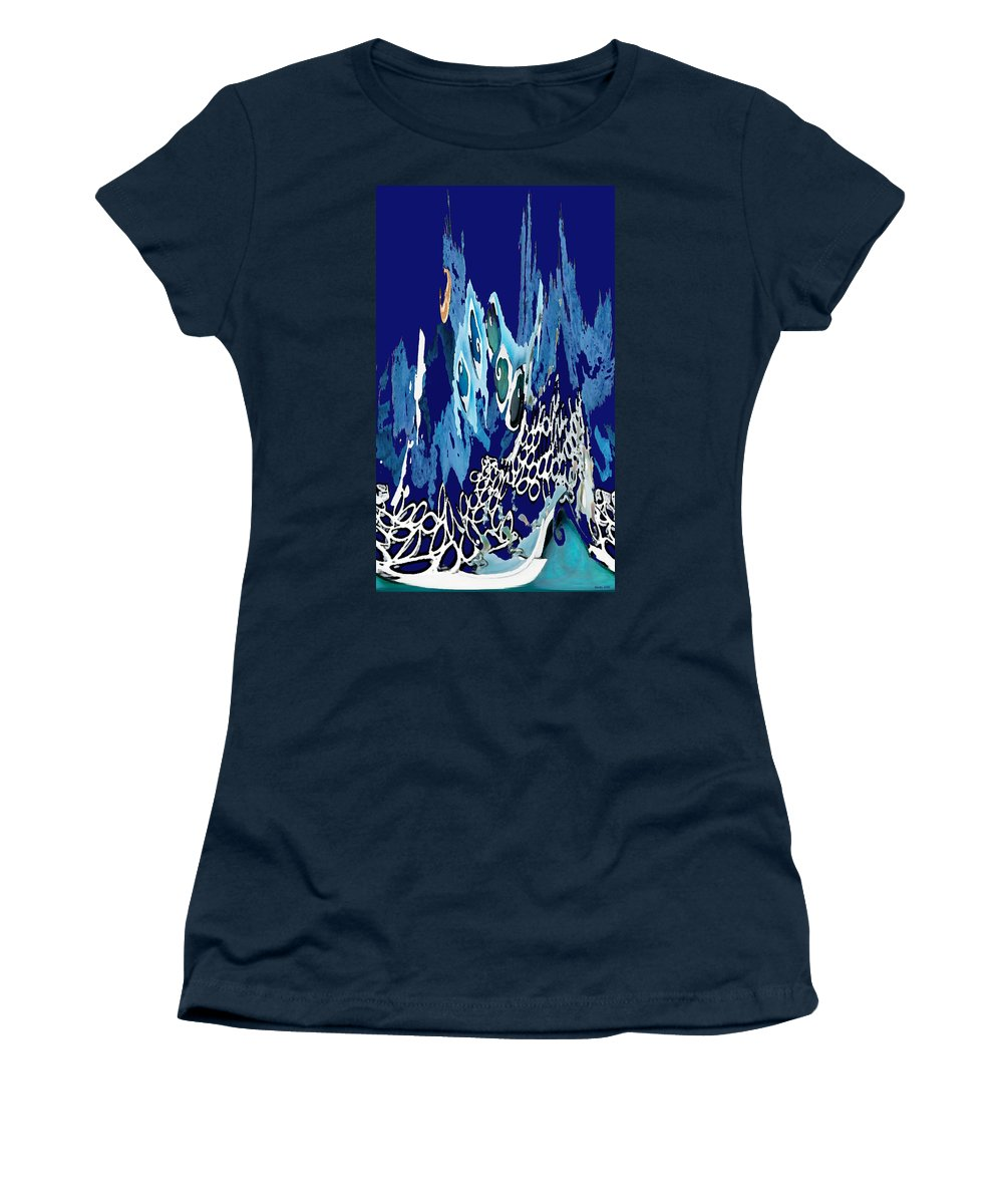 Arctic Sea Women's T-Shirt featuring the photograph Arctic Sea by Merja Waters