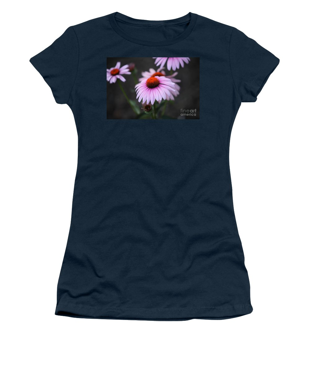 Alan Barcon Women's T-Shirt (Athletic Fit) featuring the photograph Backyard Wonders by Amanda Barcon