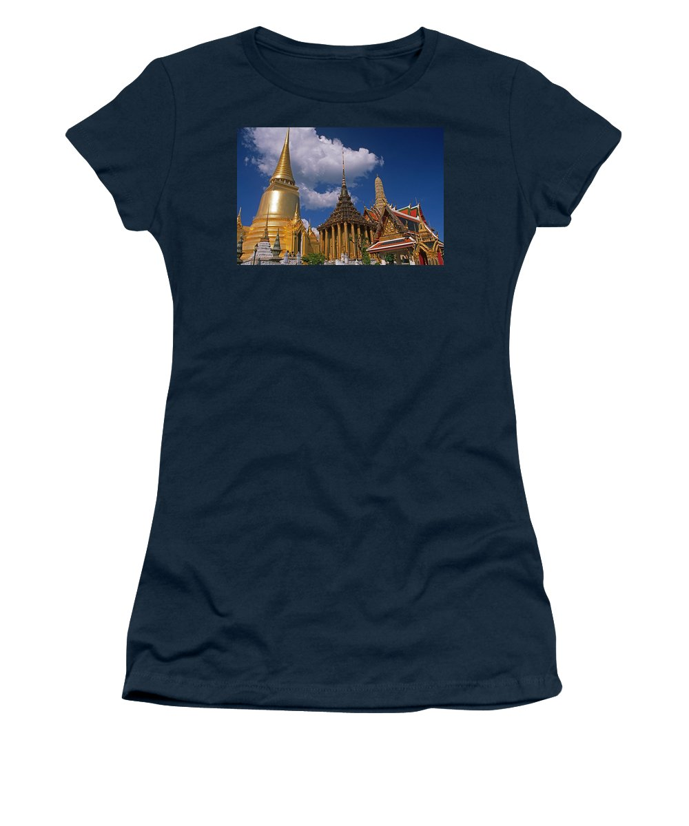 Asia Women's T-Shirt featuring the photograph Bangkok by Michele Burgess
