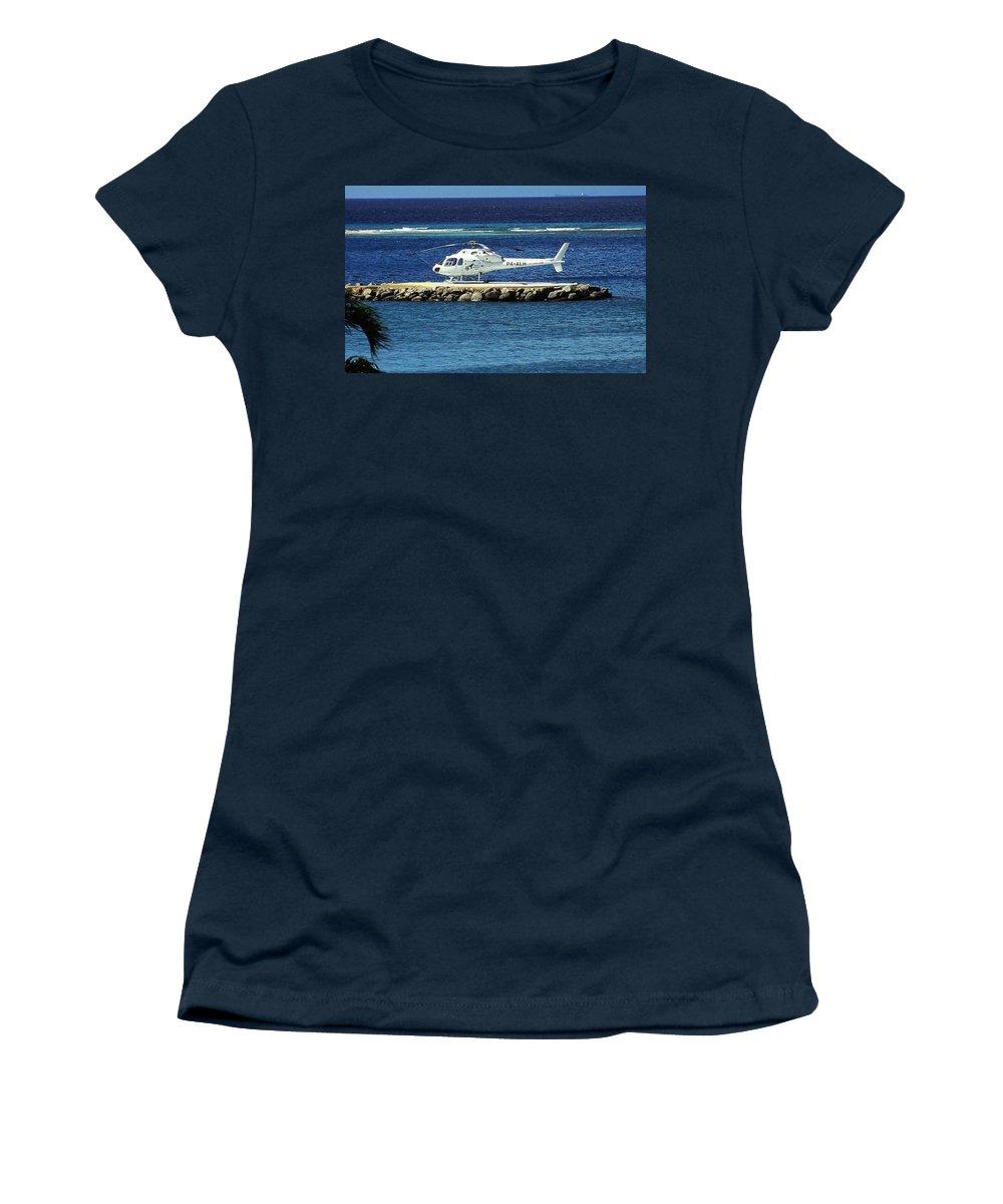 Karibik Women's T-Shirt featuring the photograph Colibri ... by Juergen Weiss