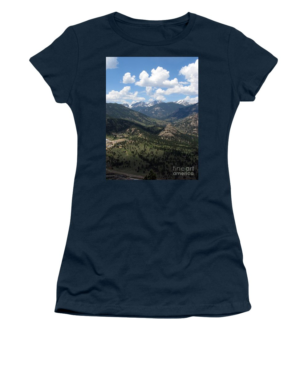Colorado Women's T-Shirt (Athletic Fit) featuring the photograph Colorado by Amanda Barcon