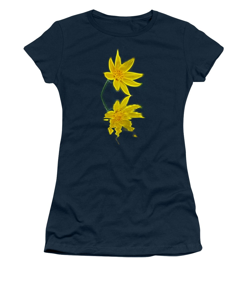 Flower Women's T-Shirt featuring the photograph Colorado Wildflower by Shane Bechler