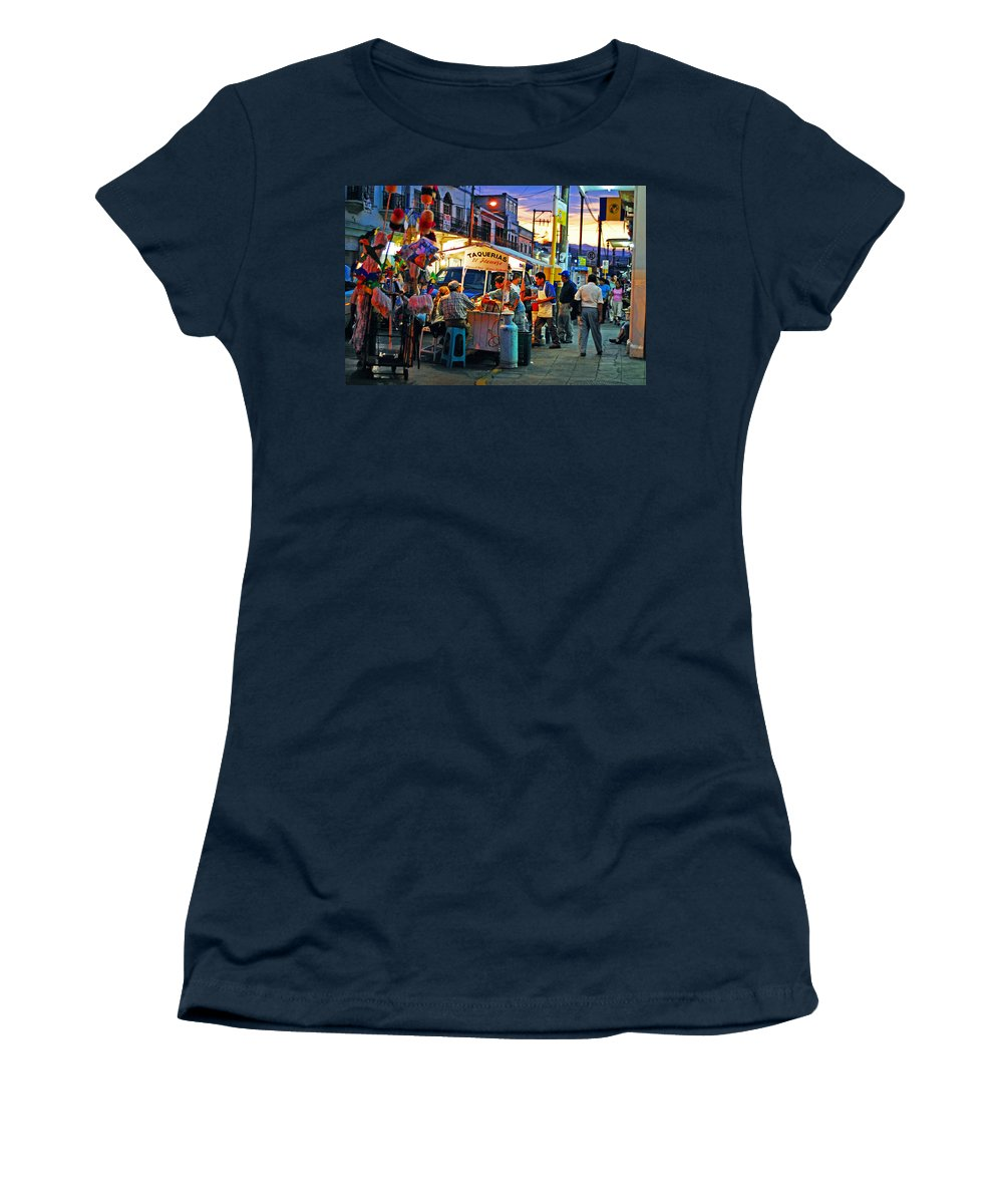Skip Hunt Women's T-Shirt (Athletic Fit) featuring the photograph El Flamazo by Skip Hunt