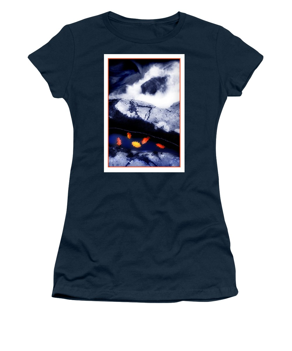 Water Women's T-Shirt featuring the photograph Fall Quintet by Mal Bray