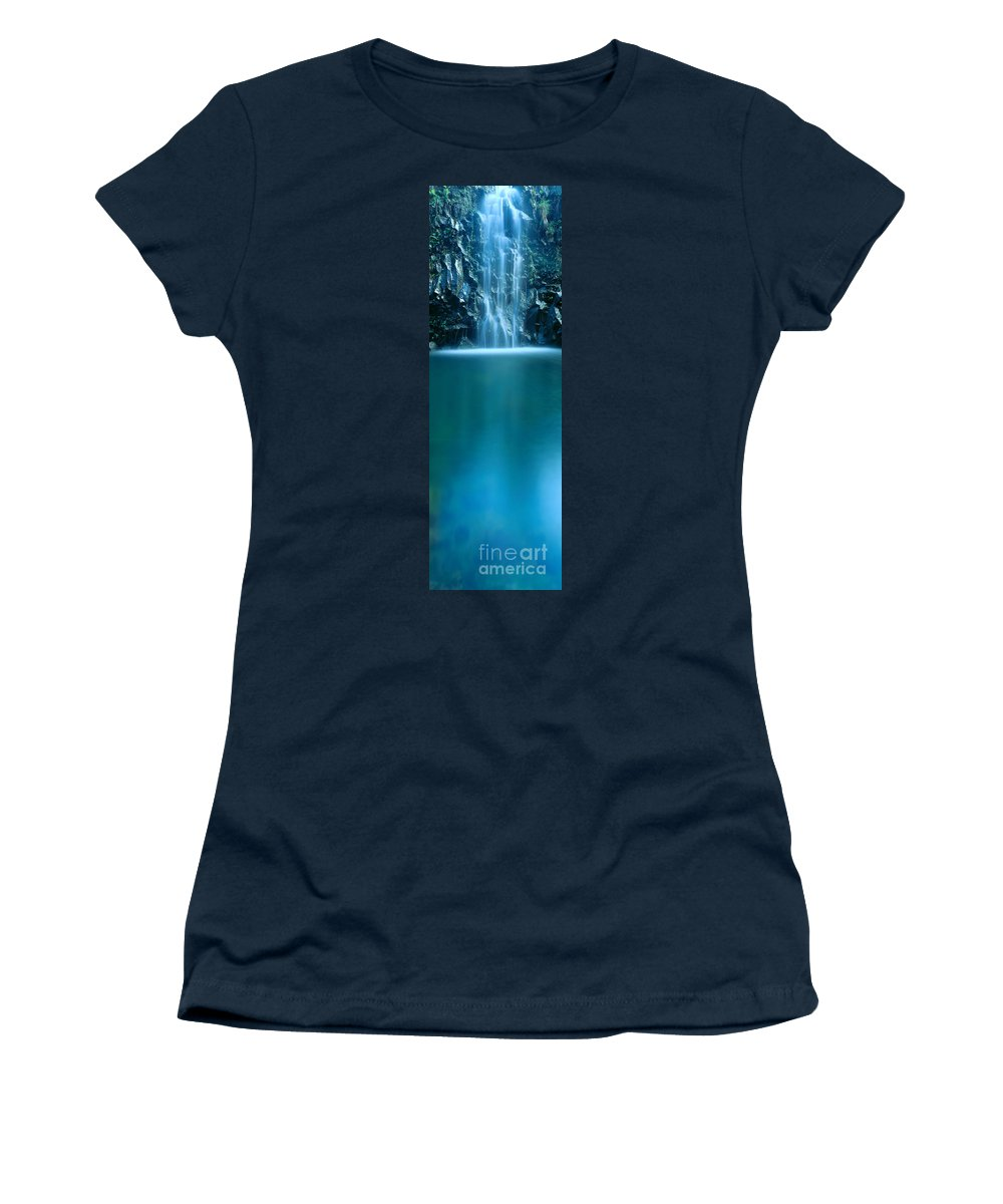 Active Women's T-Shirt (Athletic Fit) featuring the photograph Falls Pool by Carl Shaneff - Printscapes