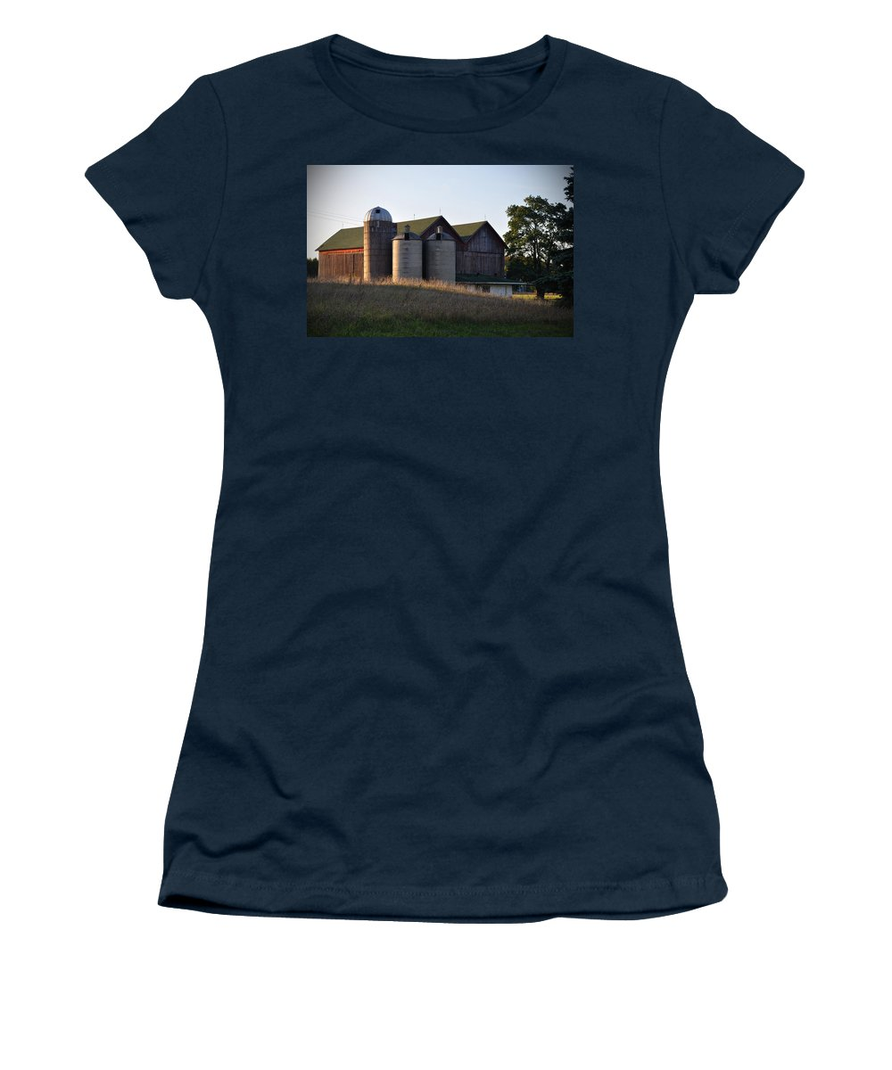 Fall Women's T-Shirt featuring the photograph Family by Tim Nyberg