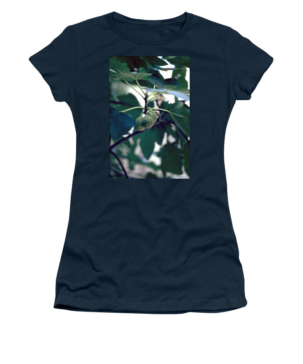 Fig Women's T-Shirt (Athletic Fit) featuring the photograph Fig by Flavia Westerwelle