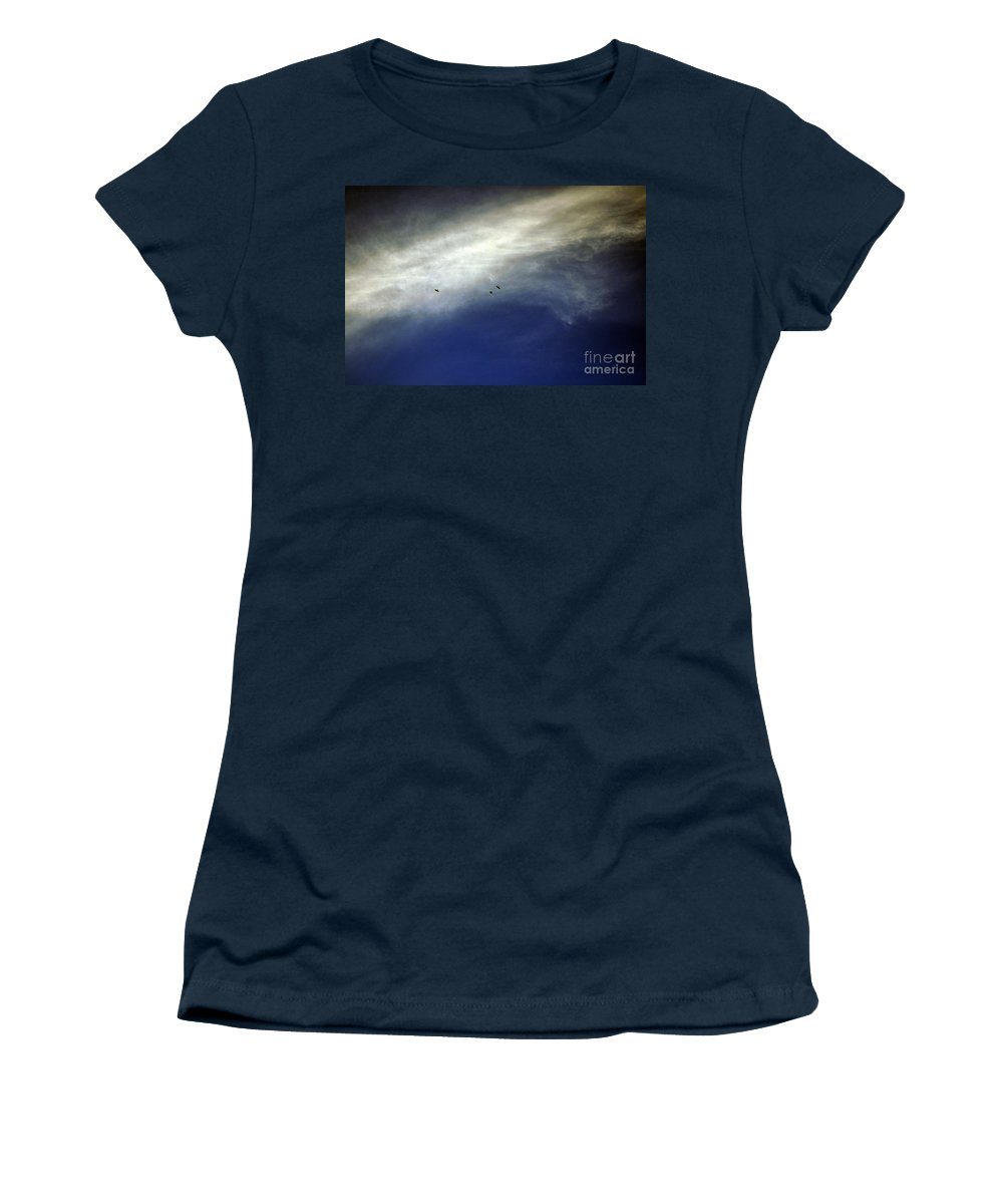 Clay Women's T-Shirt featuring the photograph Flight by Clayton Bruster