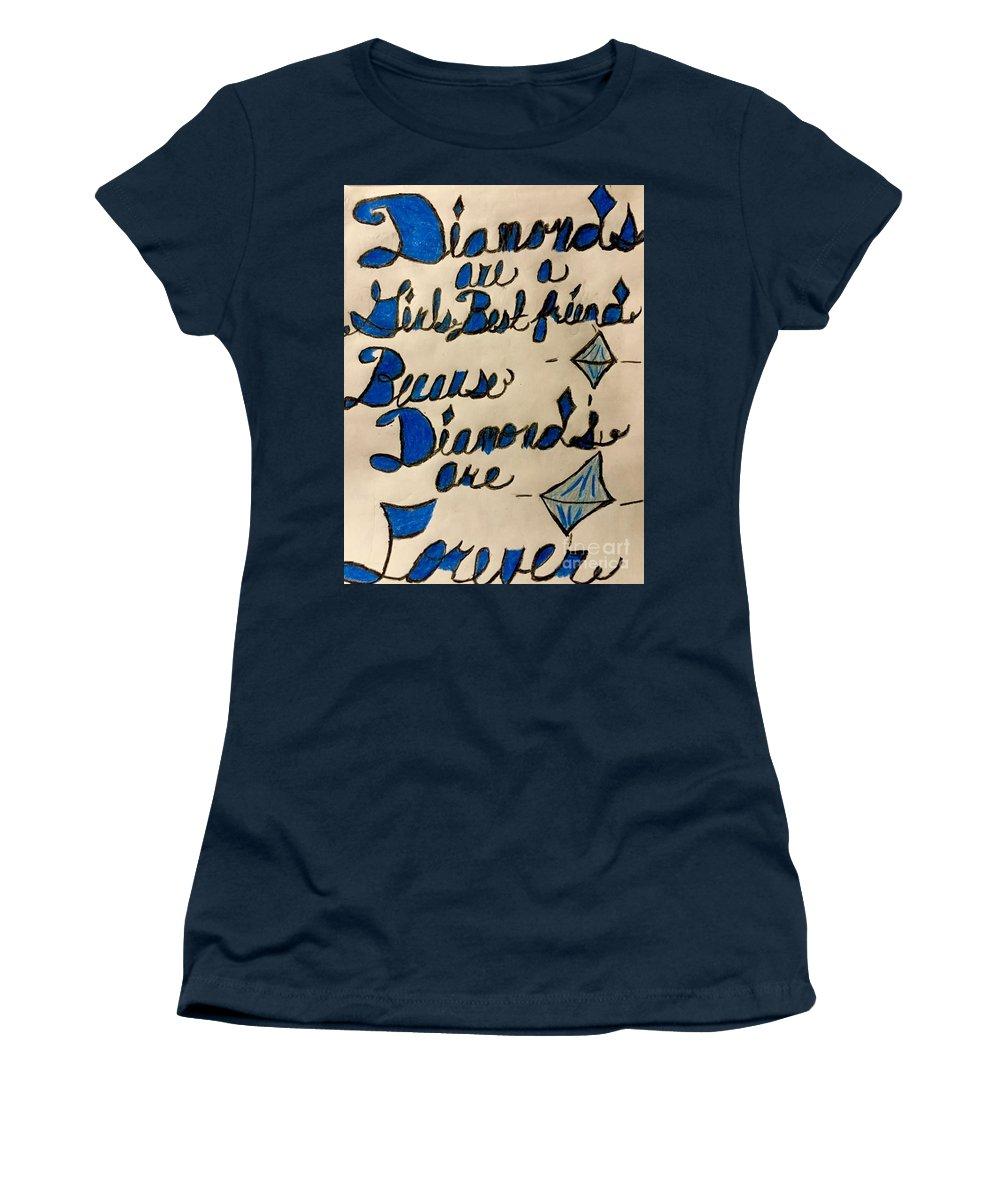 Girl\'s Best Friend Quote Women\'s T-Shirt