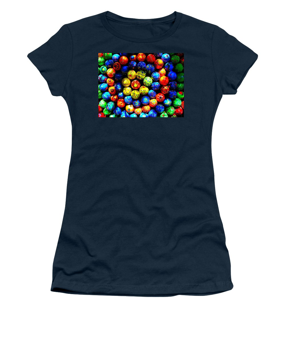 Easter Women's T-Shirt (Athletic Fit) featuring the photograph Happy Easter by Juergen Weiss