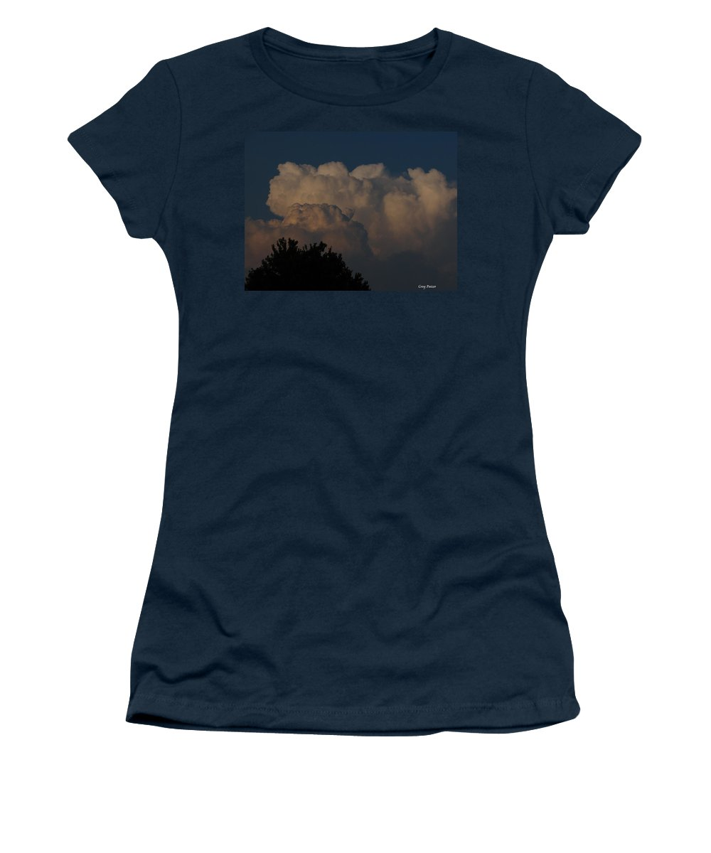 Patzer Women's T-Shirt (Athletic Fit) featuring the photograph I Want To Ride by Greg Patzer
