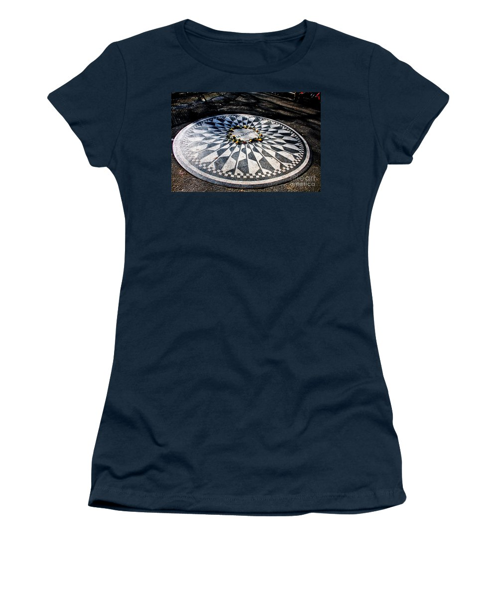 Imagine Women's T-Shirt (Athletic Fit) featuring the photograph Imagine by Thomas Marchessault