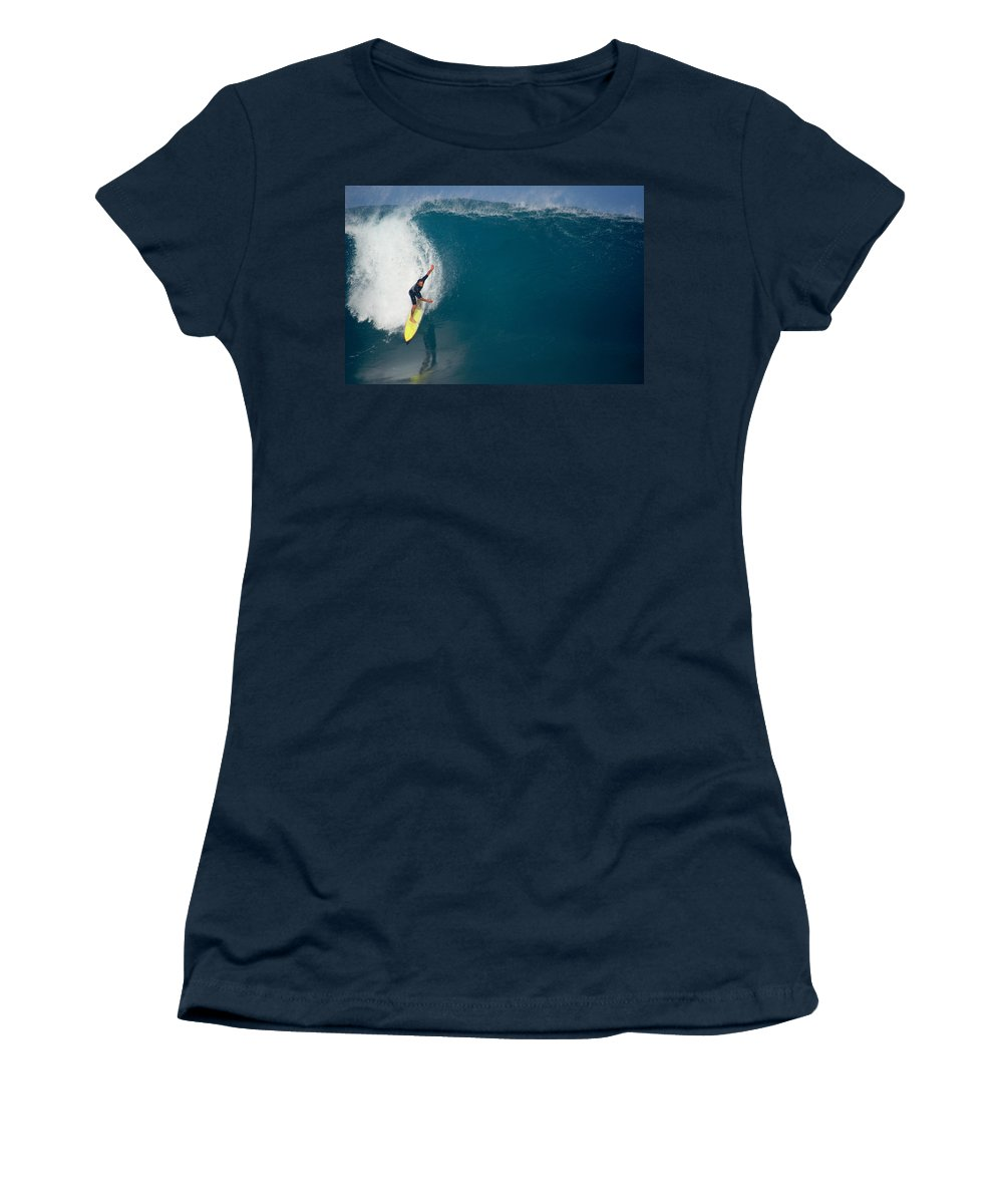 Pipeline Women's T-Shirt featuring the photograph Inner Reflection by Kevin Smith