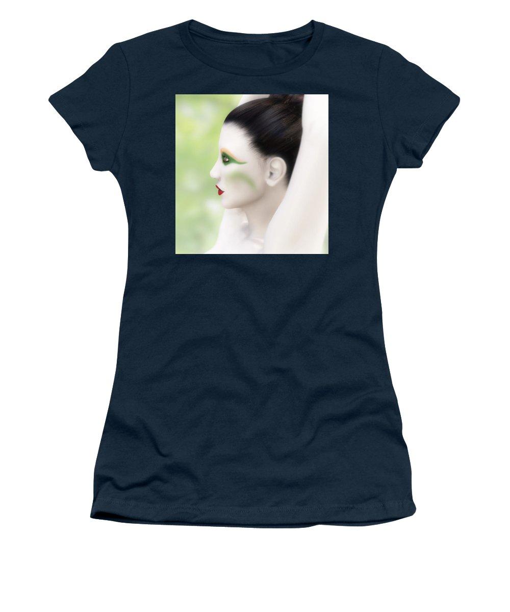 Invitation Women's T-Shirt featuring the digital art Invitation To The Dance by Leone M Jennarelli