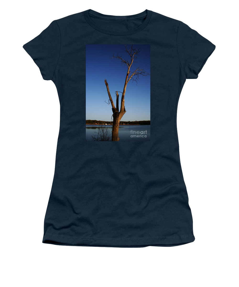 Women's T-Shirt featuring the photograph Living On by Jamie Lynn