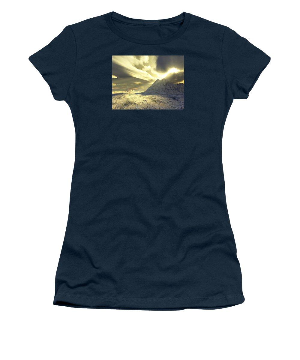 Loved Women's T-Shirt featuring the digital art Loved - Never Forgotten by Jennifer Kathleen Phillips