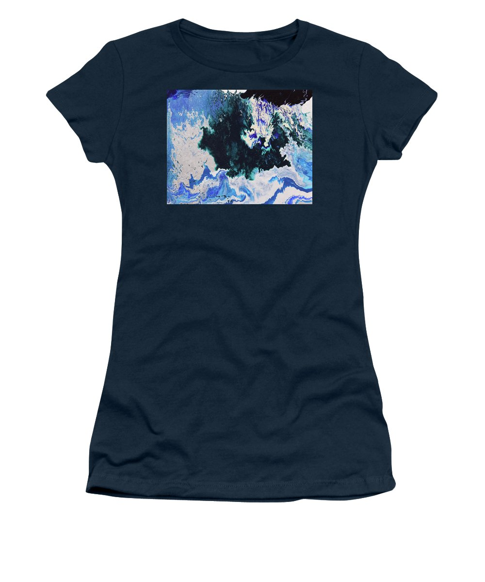 Fusionart Women's T-Shirt featuring the painting North Shore by Ralph White