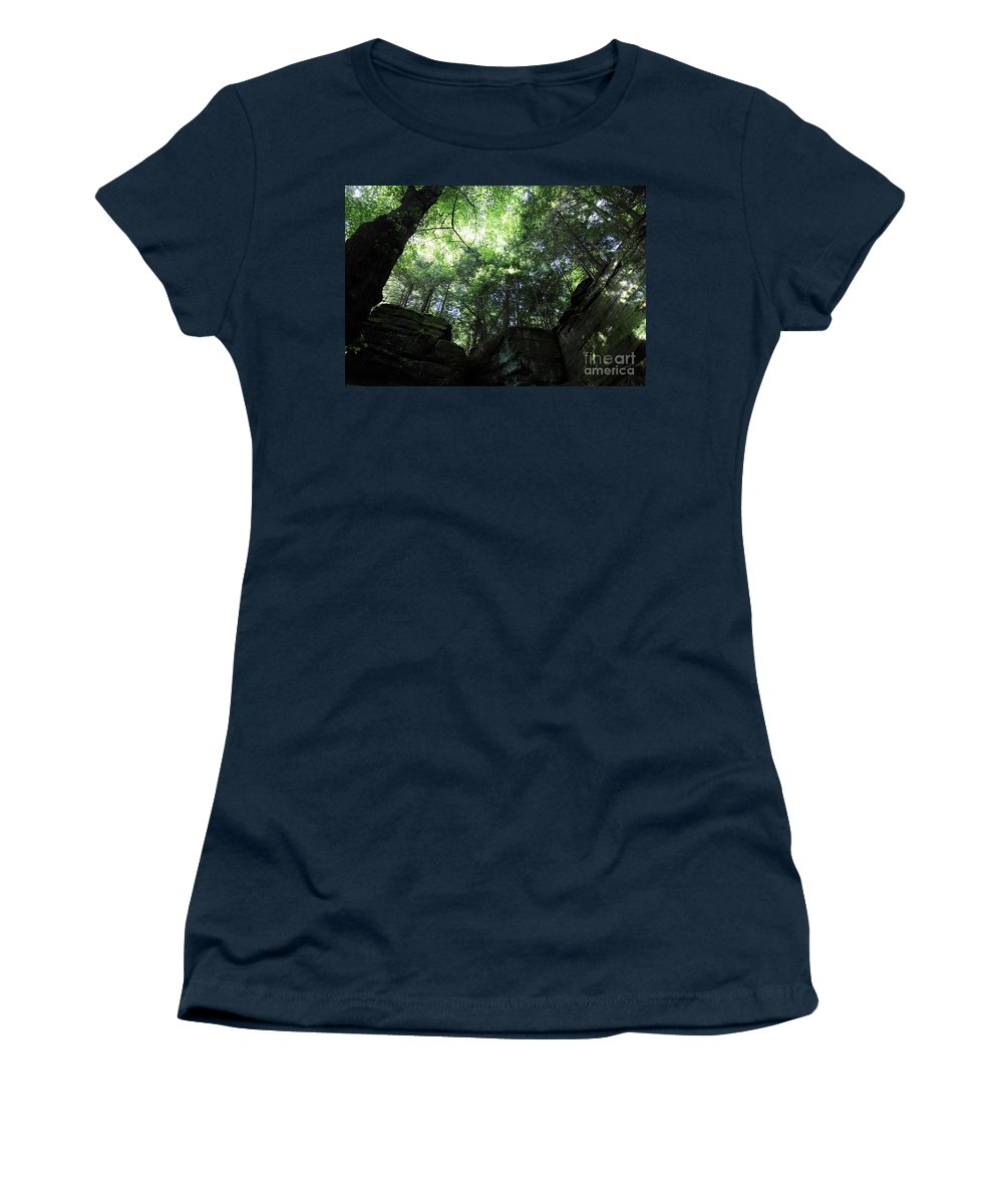 Nature Women's T-Shirt (Athletic Fit) featuring the photograph Peace All Around by Amanda Barcon
