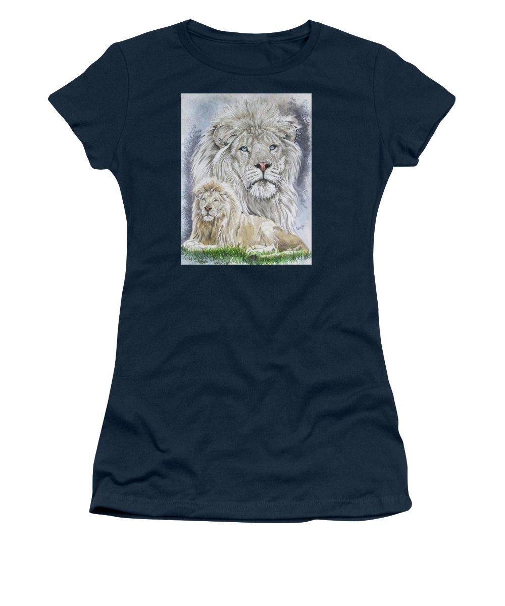 Art Women's T-Shirt featuring the mixed media Phantasy by Barbara Keith