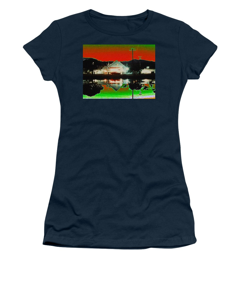 Seabeck Women's T-Shirt featuring the photograph Seabeck General Store by Tim Allen