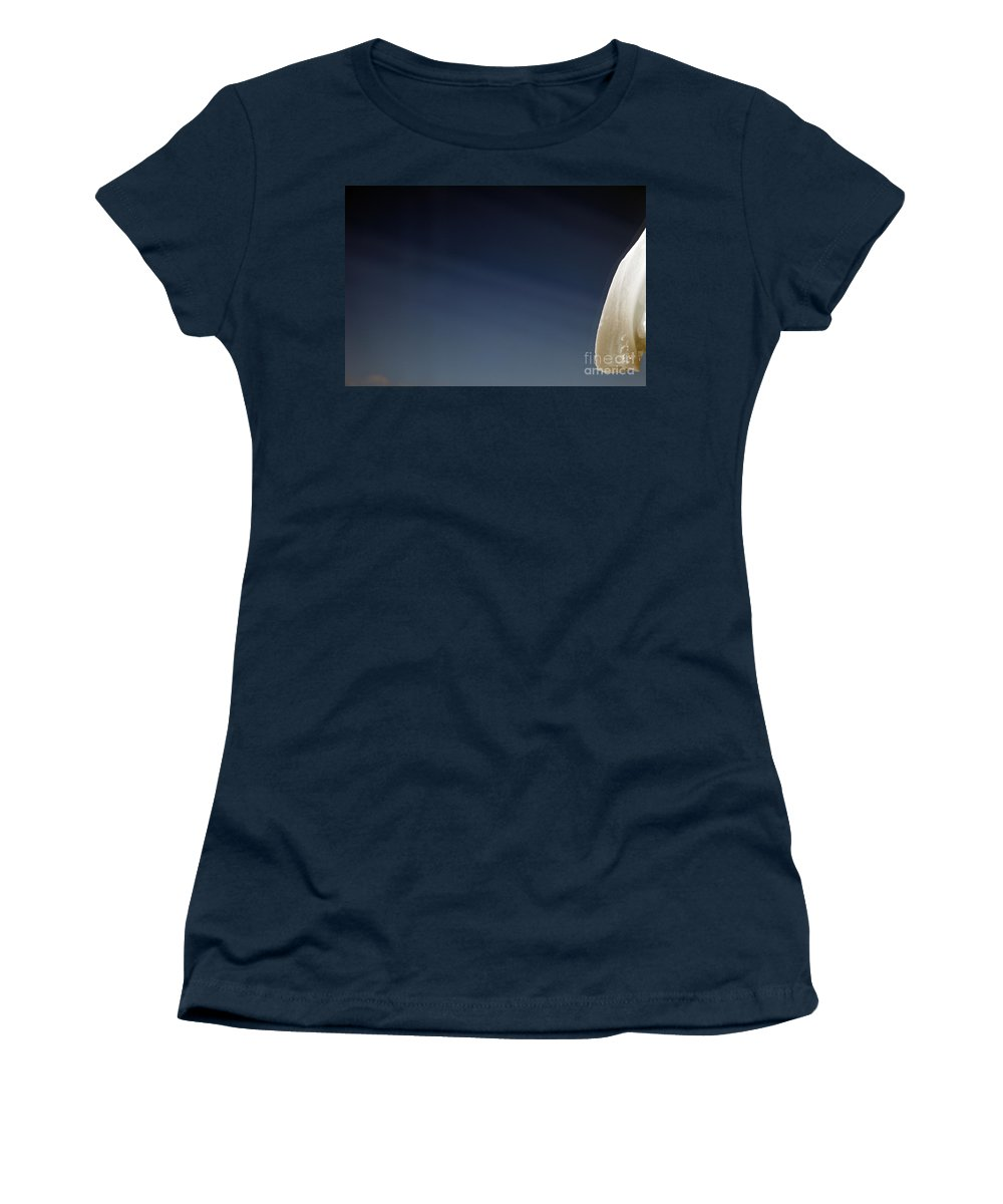 Snow Women's T-Shirt (Athletic Fit) featuring the photograph Snow Day by Amanda Barcon