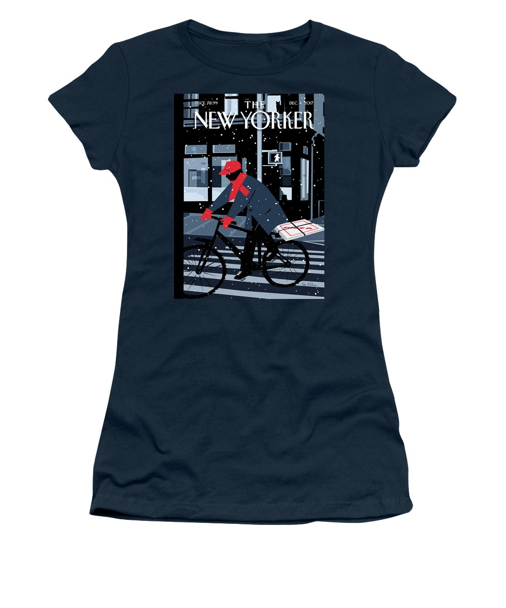 Special Delivery Women's T-Shirt featuring the digital art Special Delivery by Kim DeMarco