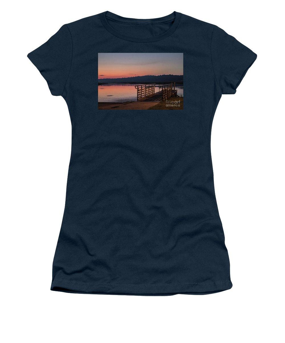 Sunrise Women's T-Shirt featuring the photograph Sunrise Morning by Doug Daniels
