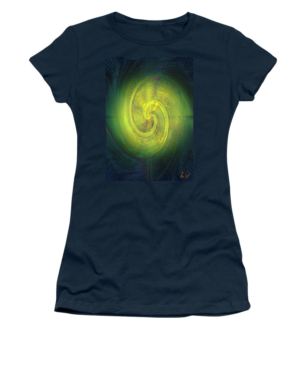 Grossdrucke Women's T-Shirt (Athletic Fit) featuring the digital art The Alternate Idea by Helmut Rottler