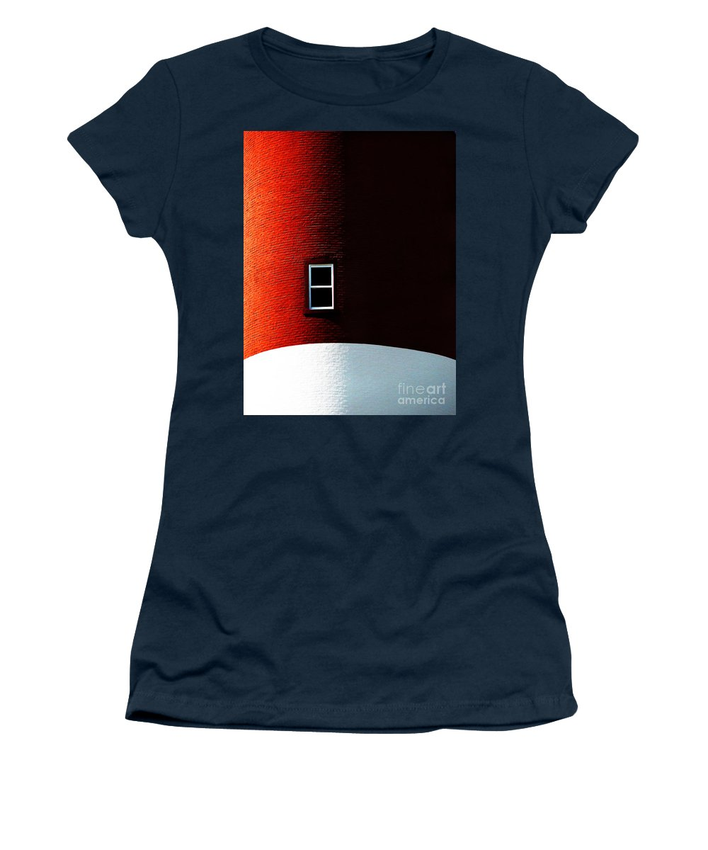 Dipasquale Women's T-Shirt (Athletic Fit) featuring the photograph The View by Dana DiPasquale
