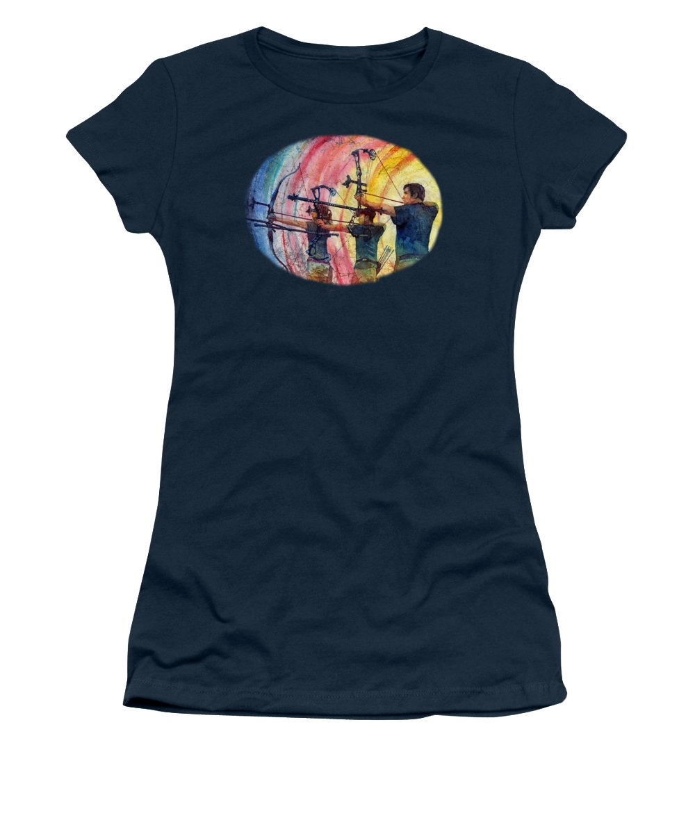 Shooting Paintings Women's T-Shirts