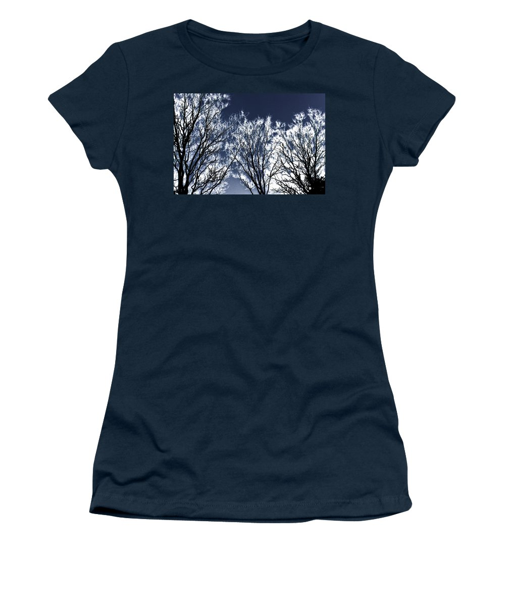 Scenic Women's T-Shirt (Athletic Fit) featuring the photograph Tree Fantasy 2 by Lee Santa