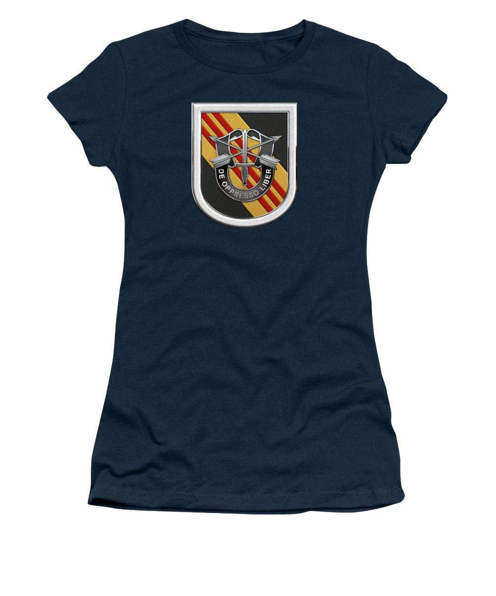 252eb4164e8d5  u.s. Army Special Forces  Collection By Serge Averbukh Women s T-Shirt  featuring the