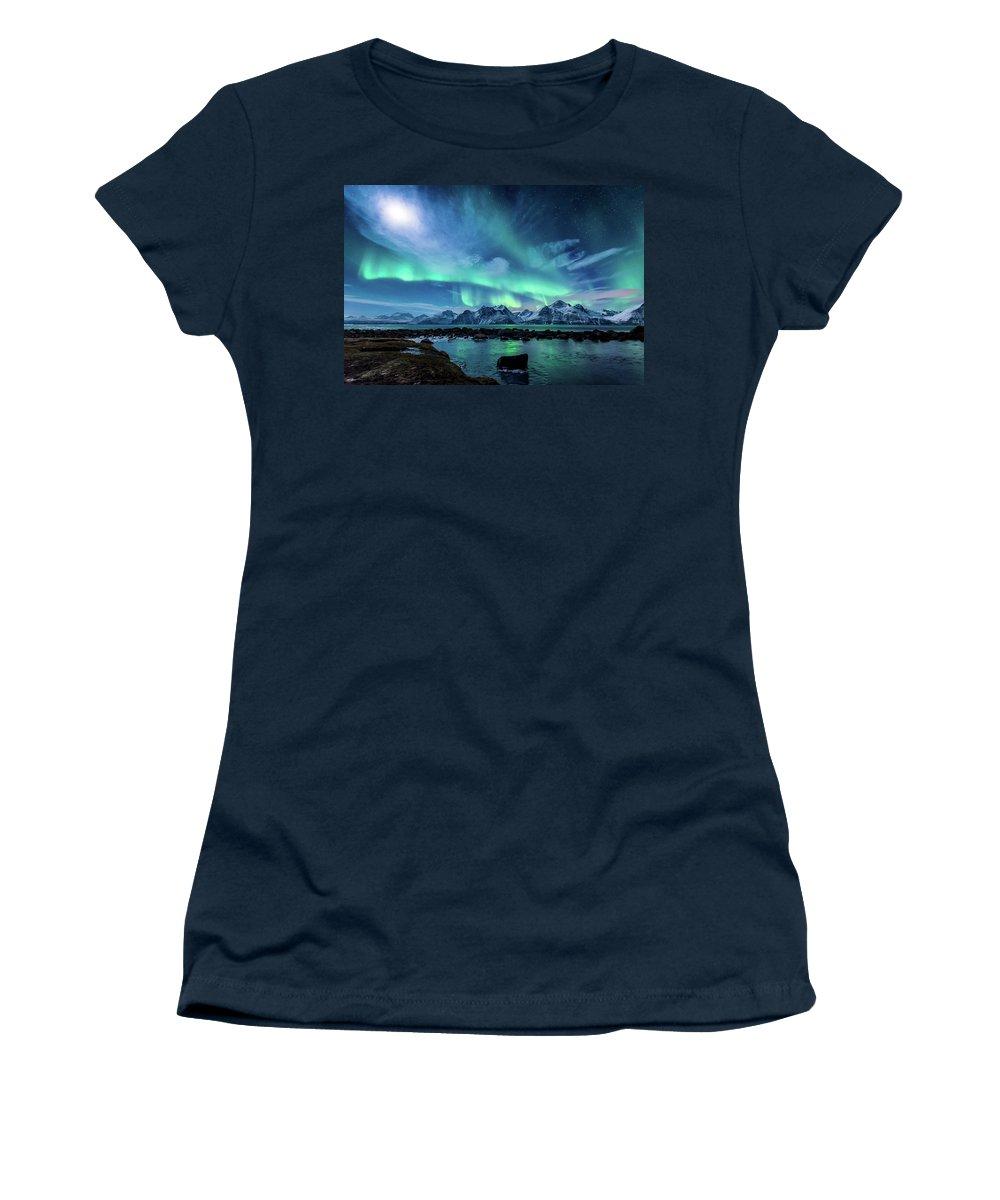 Lyngen Alps Photographs Women's T-Shirts
