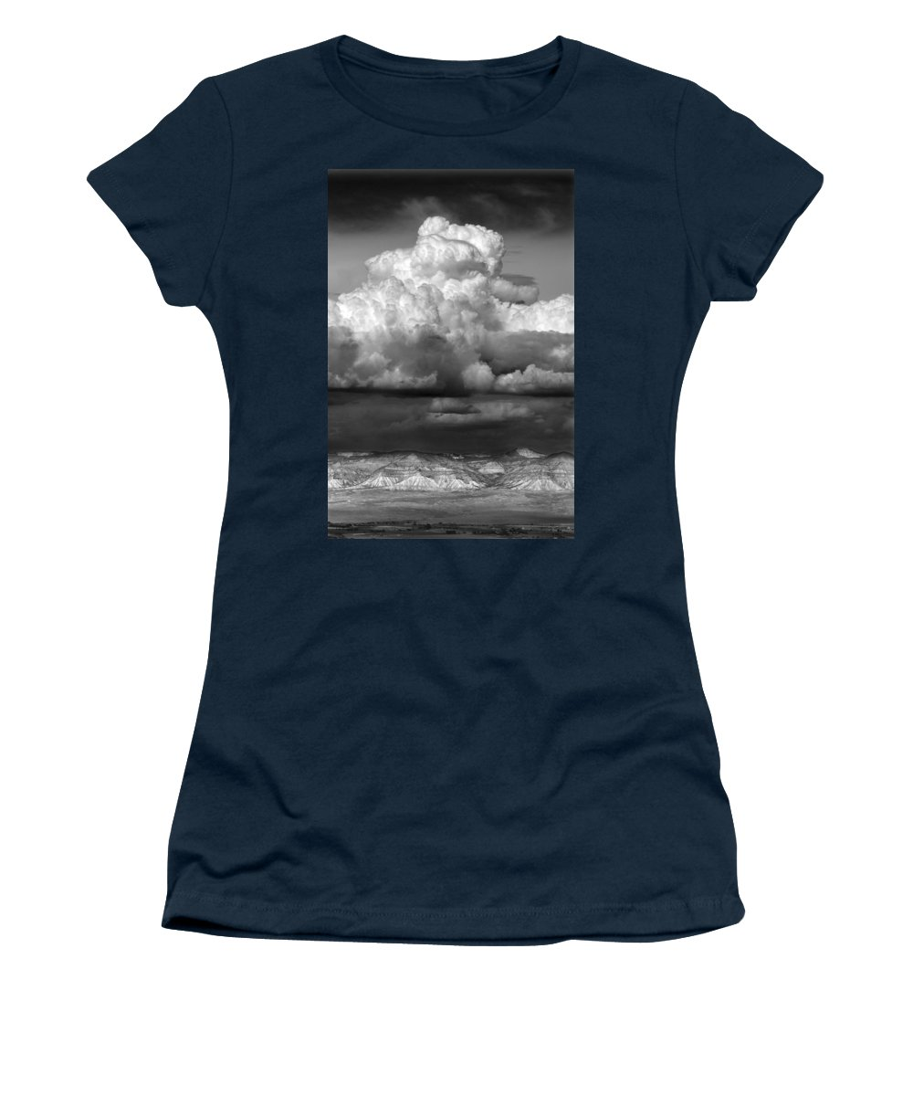 Weather Women's T-Shirt (Athletic Fit) featuring the photograph Wild Weather by Marilyn Hunt