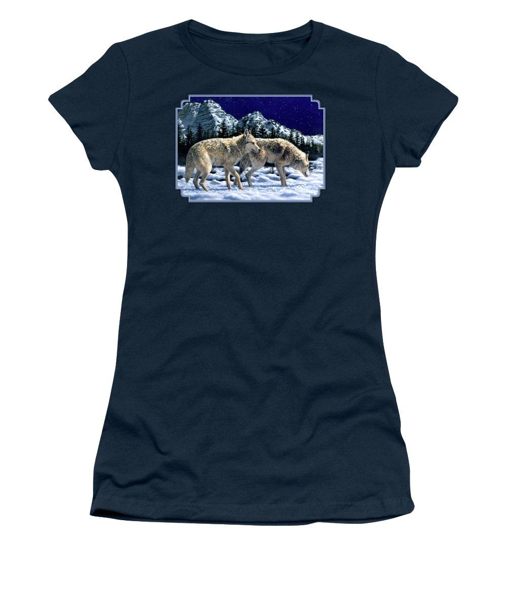 Wolf Junior T-Shirts