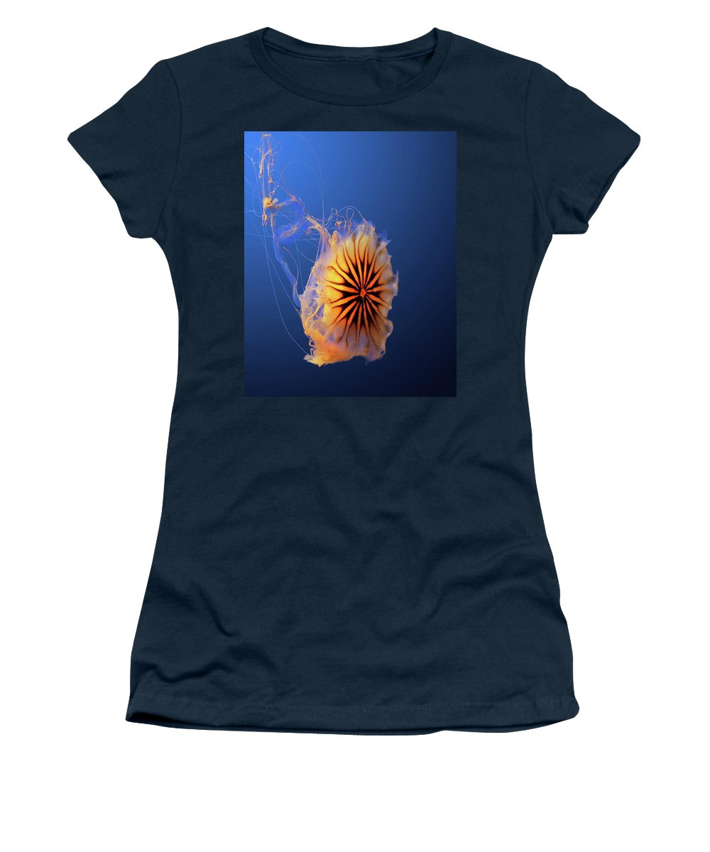 Women's T-Shirt featuring the photograph Jelly #5 by Nikolyn McDonald