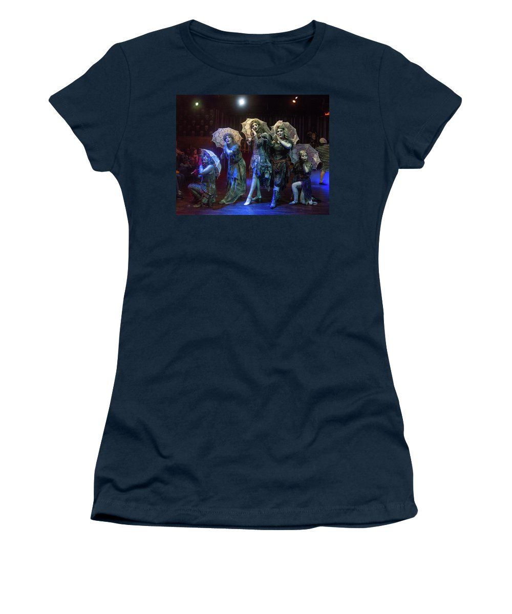 Adams Family Women's T-Shirt featuring the photograph Adams Family the Ancestors by Alan D Smith