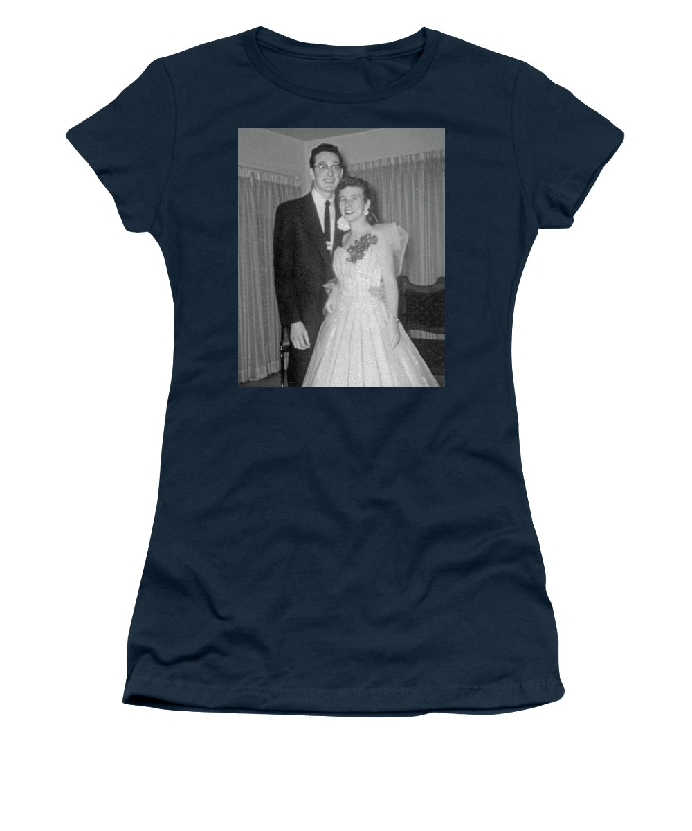 Buddy Holly Women's T-Shirt featuring the photograph Prom Night by John Bates